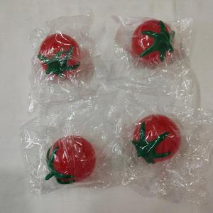 Promotional 5cm/6cm tomato TPR water splat ball toy for vending machine