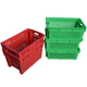 Heavy duty stacking plastic egg crate for sale