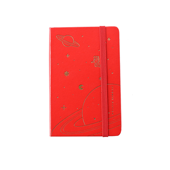 Custom cheap hardback journal PU leather cover pocket diary A5 notebook for custom logo branding