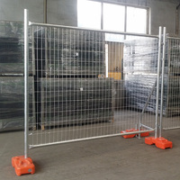 Galvanized Australia movable temporary fence