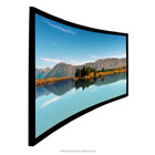 2.35:1Curved Projection Screens/120 '' 3D Projector Screen/3D Home Cinema System