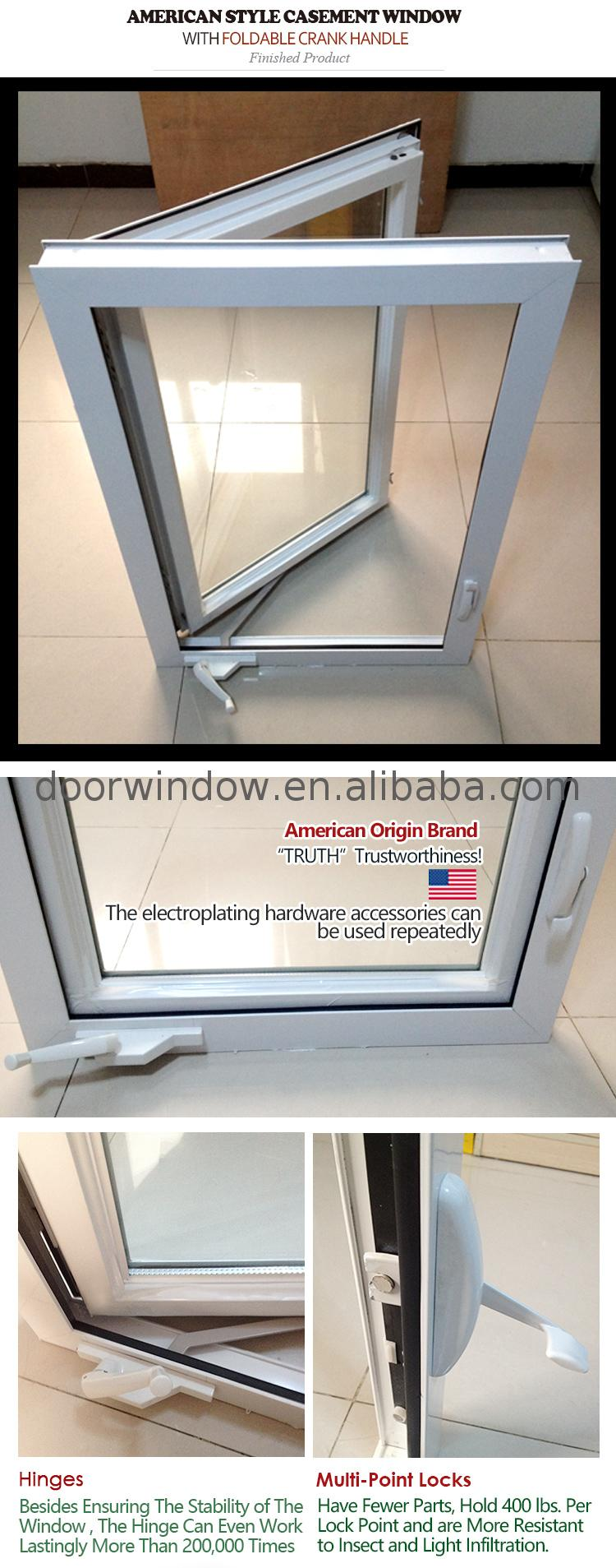Factory Direct High Quality child proof casement windows cheap for sale century