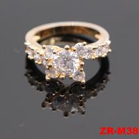 2016 New wholesale fashion gold design price 1 carat diamond ring