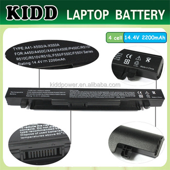 A41 X550 A41 X550a Laptop Batteries For Asus A450 A450c
