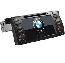 "7 ""HD 1 <span class=keywords><strong>din</strong></span> car <span class=keywords><strong>dvd</strong></span> player per BMW E46 M3 Con 3g GPS bluetooth stereo Radio RDS USB SD Controllo del volante Can bus mappa Gratuita"