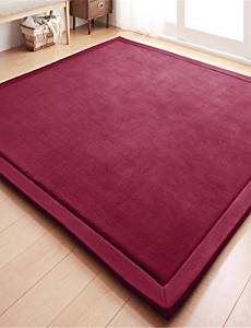 """LBLI New-Designed Casual Style Coral Velvet Material Non-Slip Thickened Mat W31"""" x L78"""" , rose DT-DZ #1124"""