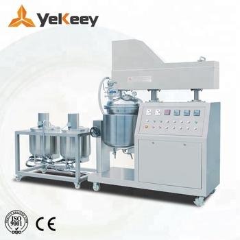 100l Lotion Vacuum Emulsifying Emulsifier Homogenizer Mixer - Buy Lotion  Mixer,Emulsifier,Emulsifying Mixer Product on Alibaba com