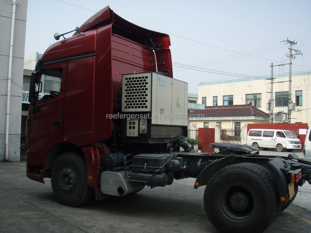 truckmount genset for reefer container