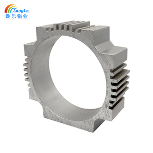 Various Colors Anodized Alloy Louvre Doors Threaded Stamping Part Customized Aluminum Housing Box