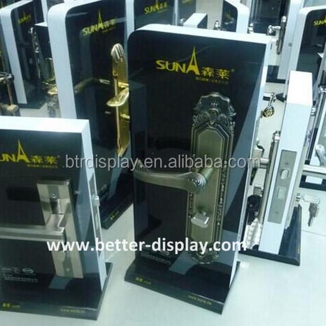 Custom Acrylic Door Lock Display Stands