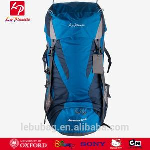 China Suppliers Hikink Mountaineering Hydration Backpack with Rain Cover