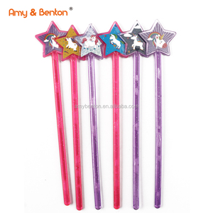 Unicorn Party Favor Small Plastic magic wang toys for girls