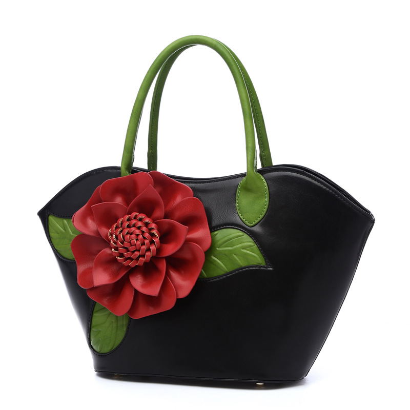 NS2414 Hot Sale China New Fashion Alibaba Flower Wedding Bags