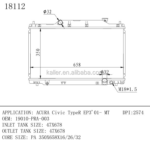 HONDA CIVIC 2.0 TYPE R EP3 K20A2 FRONT WHEEL BEARING KIT PAIR LEFT /& RIGHT