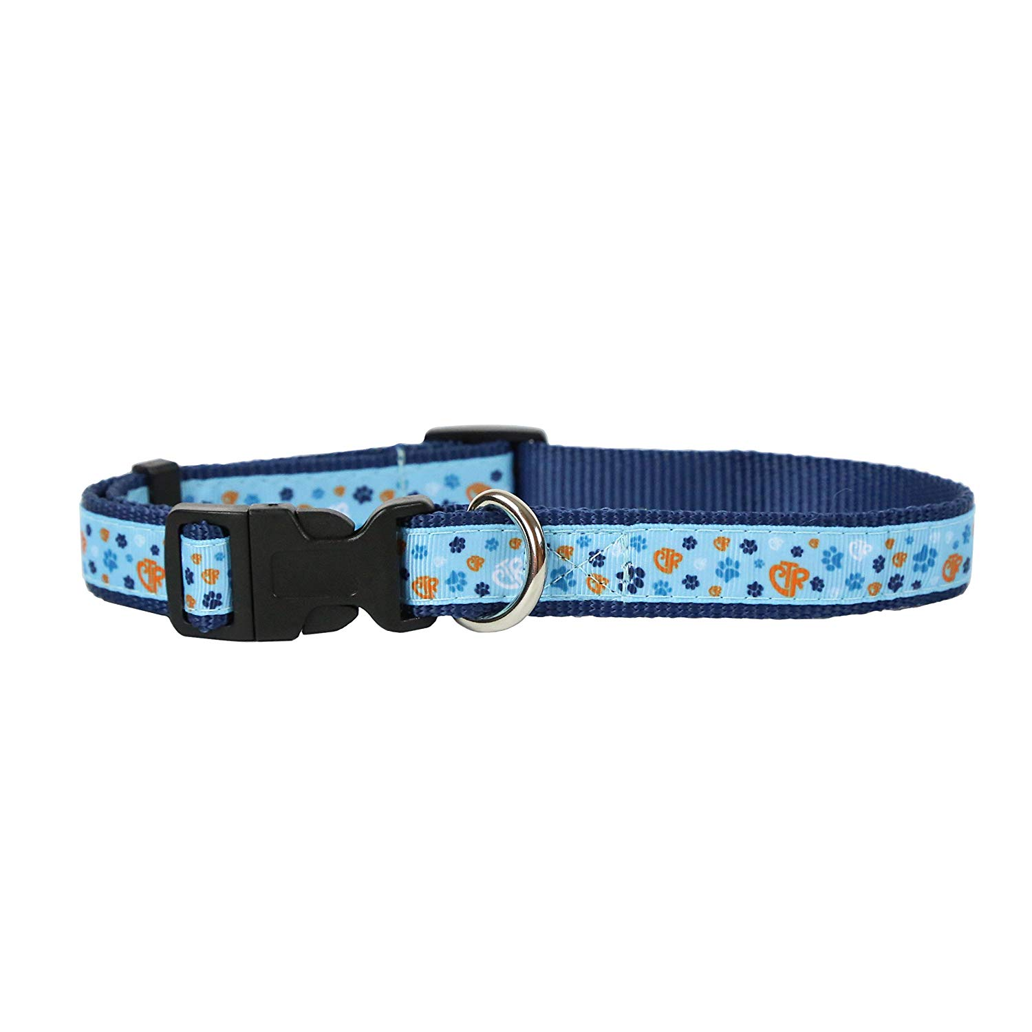 Blue CTR Pet Collar - perfect for dogs, cats, and more - pets can choose the right