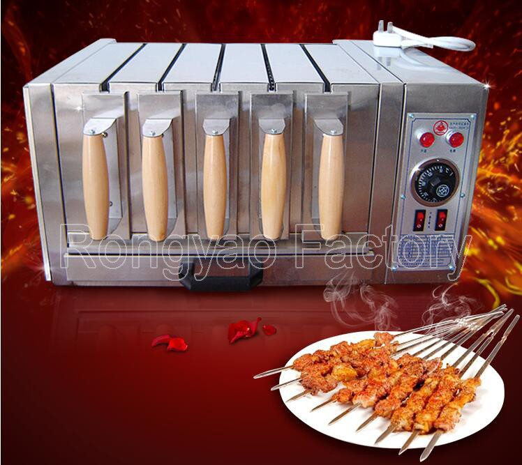 250degrees 27pcs 72pcs 45pcs Shish Kebab Skewer Grill Baking Oven Machine