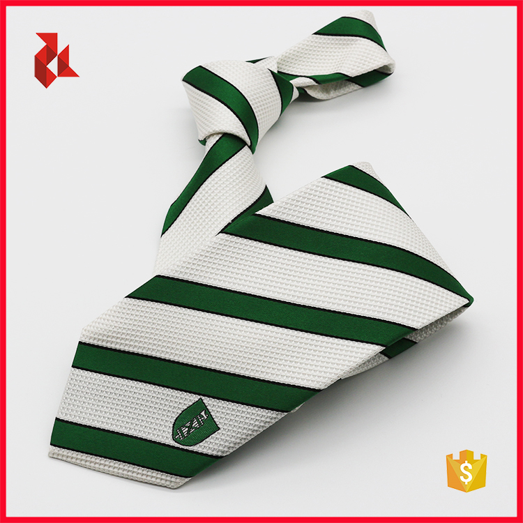 Super Quality 100% Silk Uniform Club Logo Necktie
