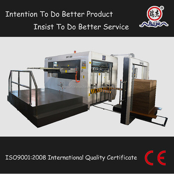Semi Automatic Die Cutting And Creasing Machine With Ce/high Quality Carton  Box Die Cutter In China - Buy Die Cutting Machine Supplier,Die Cutting