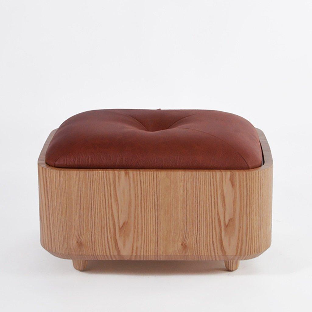 LQQGXL European chair Stool creative wood shoe stool shoe stool storage stool cushion stool sofa stool (Color : C)