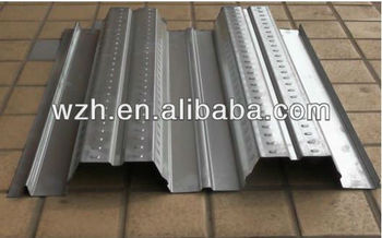 Yx76-344-688 0.8mm Thick Concrete Galvanized Metal Floor Deck ...