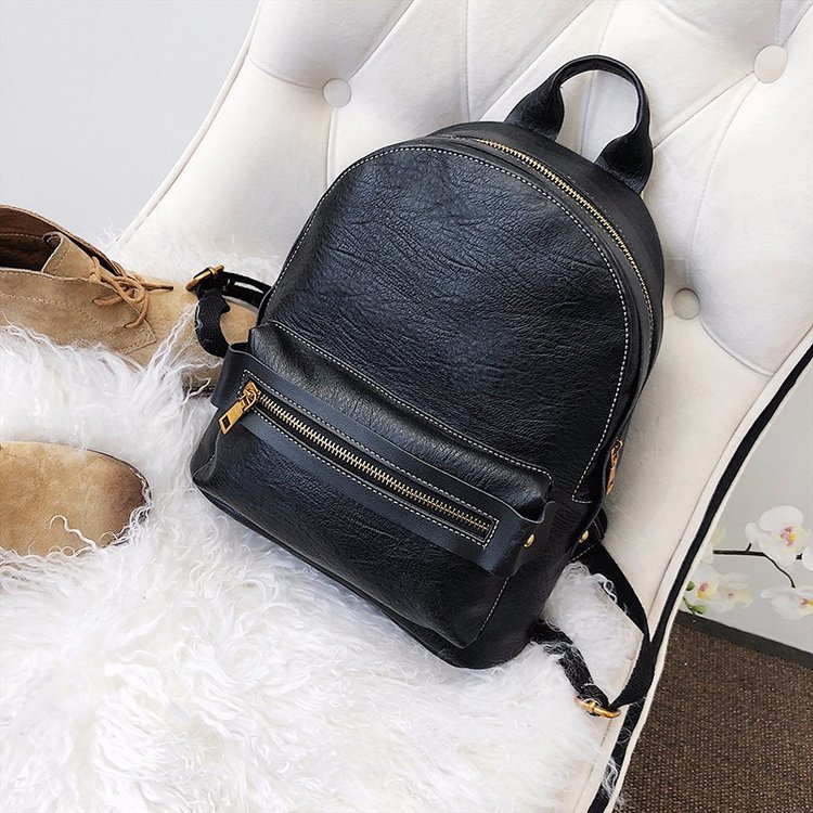 Fashion Korea Women PU Leather Backpack Ladies Fancy Backpack