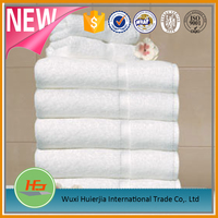 high quality 600gsm 16s dobby style white bath towel set