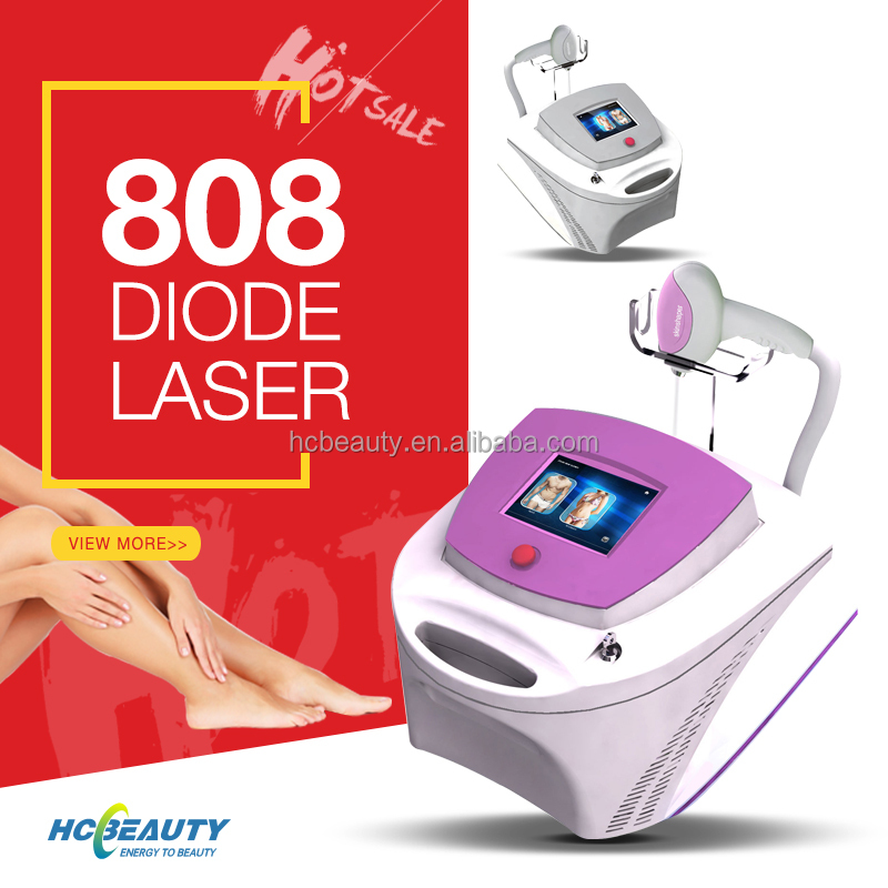 portable professional 808nm diode laser for hair removal
