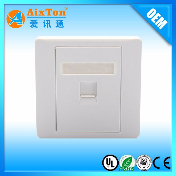 Network Face Plate (UK Type) wall outlet RJ45 faceplate