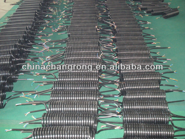 electrical coil, adapter coil 3 5mt 15 pin to 2*7 pin 24v tpe