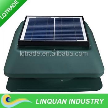 15w Tilt Solar Panel 14inch Roof Air Ventilator