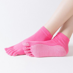 Popular New Designed Custom Keep Warm Knitted Adults Knitted Toe Socks