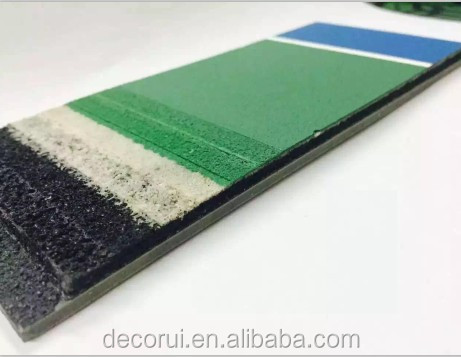 Water based acrylic coating flooring for basketball court
