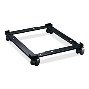 Lorell 17573 File Caddy, Adjustable, 11-3/8quot;x16-5/8quot;x4quot;, Black, 1/BX