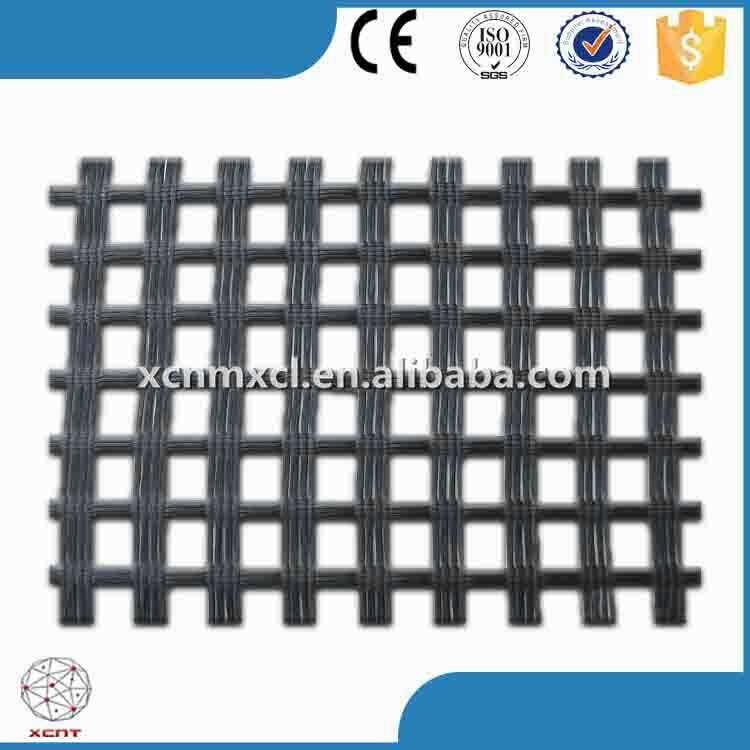 PP BX grid with Asphalt Coating for Roadbed and railway Construction