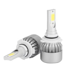C6 car led headlight bulb H1 H3 H7 H8/H9/H11 880 881 9006 HB4 HB3 9005 auto LED headlamp 8000LM COB led fog lamps headlights