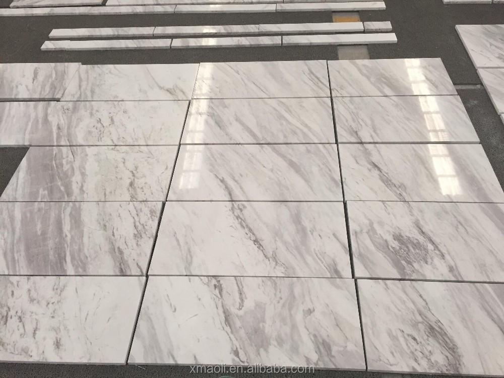 White floor tiles greece volakas marble cut to size