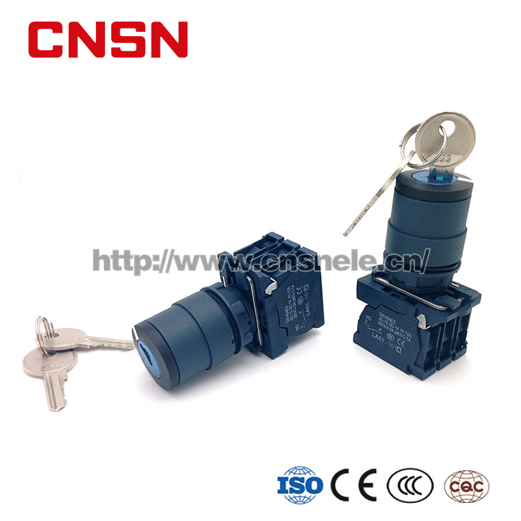 SB5-AG21 Key Switch Momentary Switch Push Button Lock