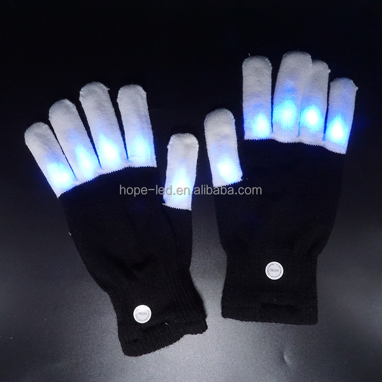 LED Flash Lighting Outdoor Multicolor Warm Gloves Game Party