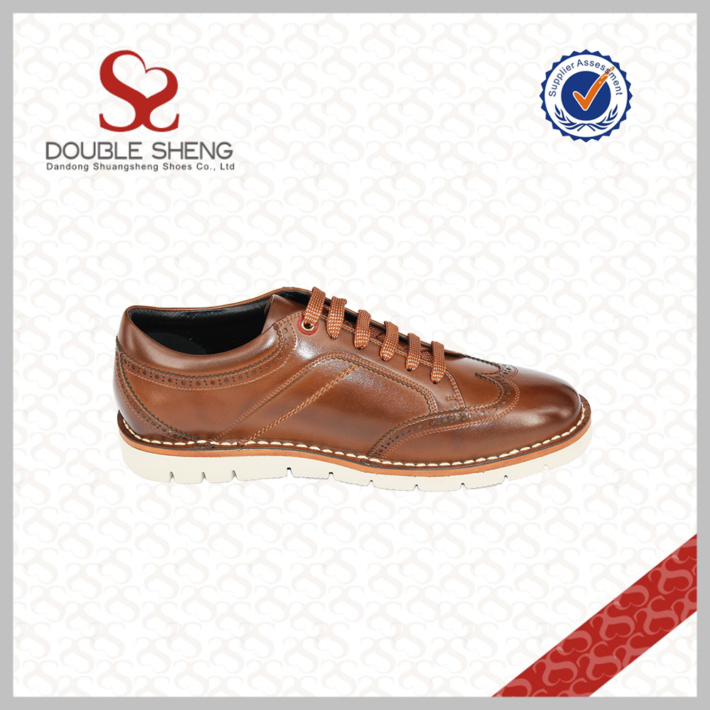 outsole brogue man leather shoes shoes material men microfiber rubber casual 00xrndPq