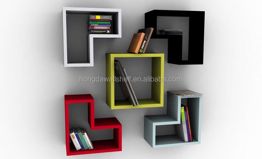 hoogglans woonkamer plank kinderen tetris plank - Tetris Planken