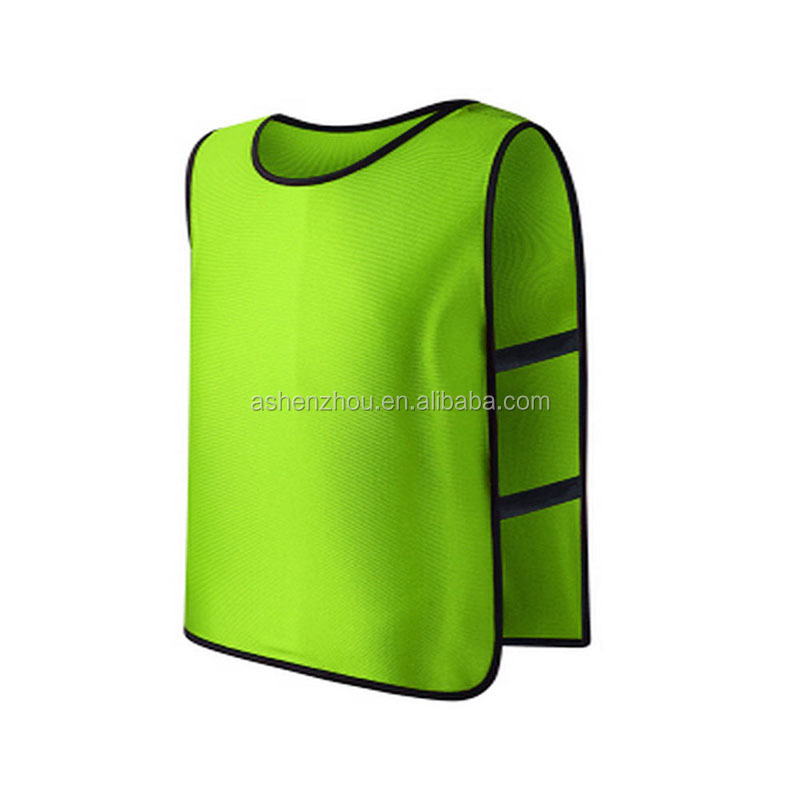 Cheap custom mesh training vest sports scrimmage vests for children youth adult sports basketball, soccer, football, volleyball