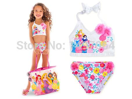 in stock maillot de bain princess swimsuit for girls 2. Black Bedroom Furniture Sets. Home Design Ideas