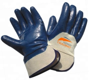 Top quality nitrile jersey gloves nitrile gloves wholesale