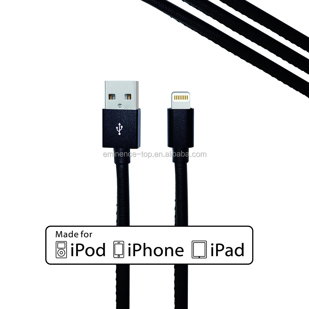 High quality leather cable usb cable for android,fast charging usb cable for Smart Phones