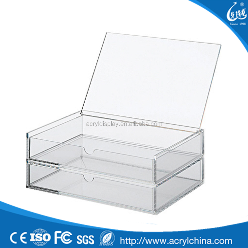 Single Clear Acrylic Storage Drawer Supplieranufacturers At Alibaba