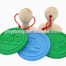 DIY food grade homemade round shape silicone cookie stamp