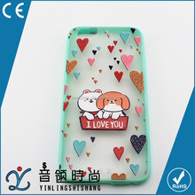 High Quality Mobile Phone Accessories Factory Price, Cute Fancy TPU Hard Phone Case Carton Back Cover For iPhone
