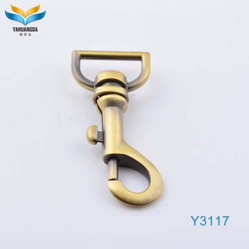 hardware spring clip swivel snap dog hook used for decoration ornament