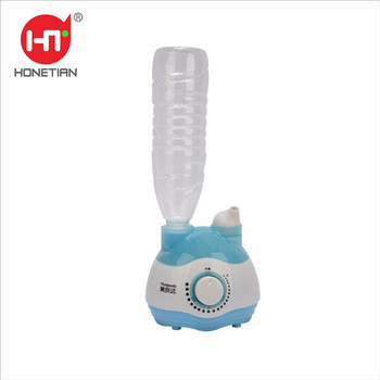 Cute shape HTJ-2037 Mini Removeable Mist Portable Ultrasonic Bottle Humidifier Fogger