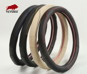 New popular Leather Steering Wheel cover for decoration